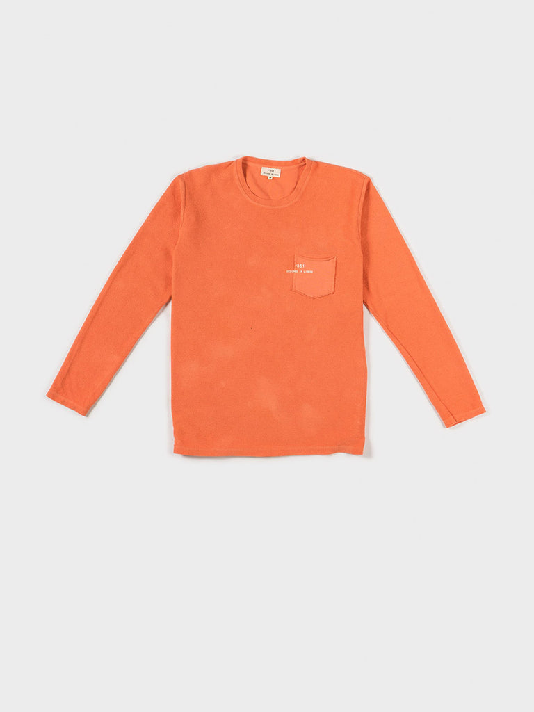 SWEATSHIRT ESSENTIAL SALMON