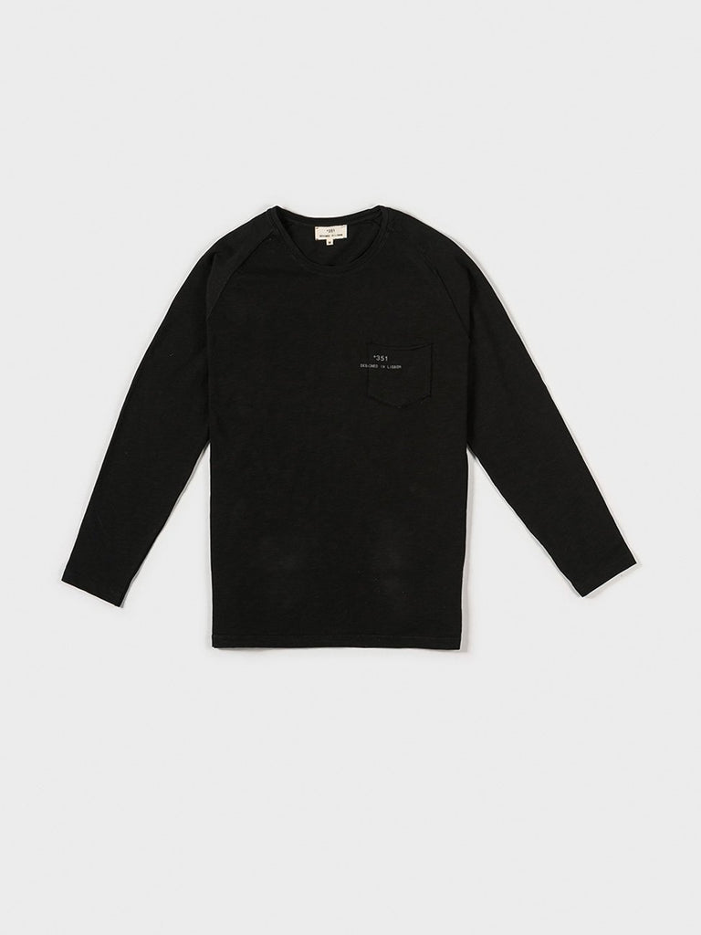 LONG SLEEVE ESSENTIAL BLACK