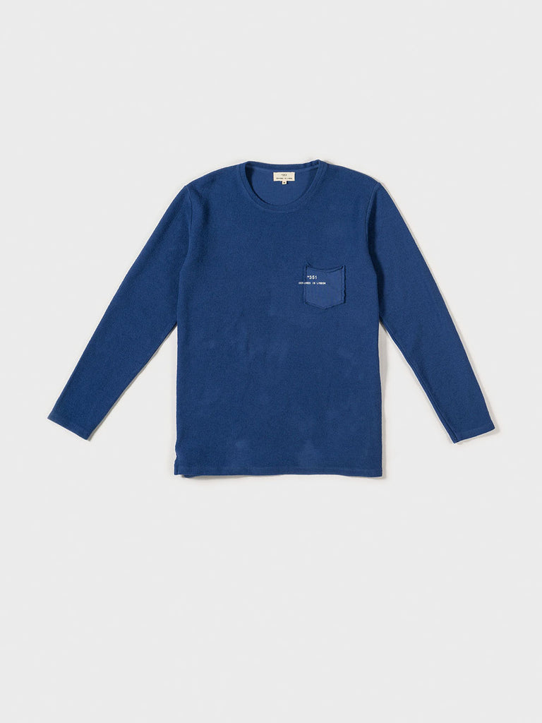 SWEATSHIRT ESSENTIAL ROYAL BLUE