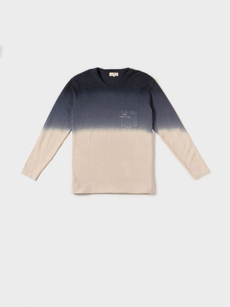 SWEATSHIRT GRADIENT CHARCOAL & CRU
