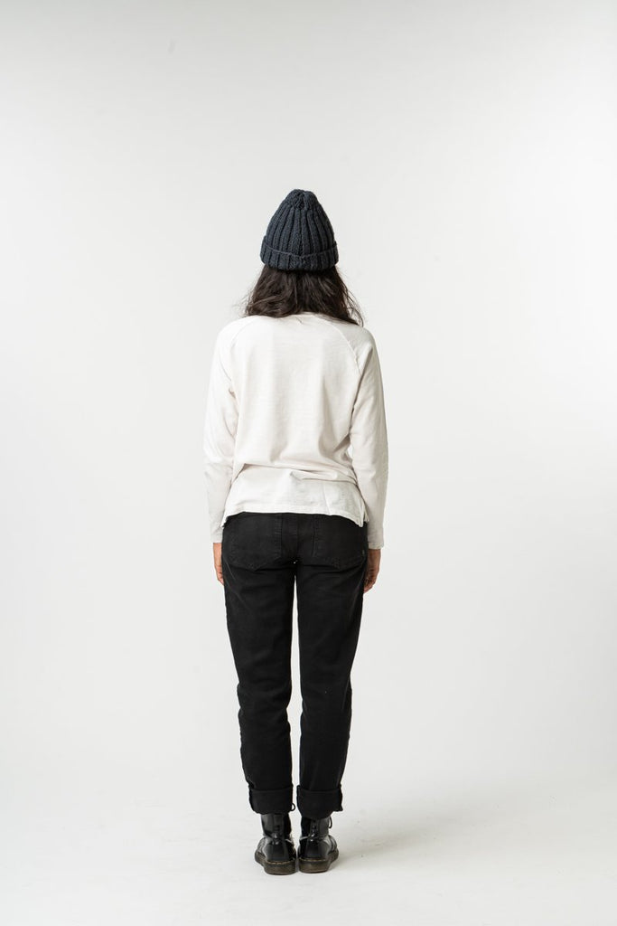 LONG SLEEVE ESSENTIAL OFFWHITE