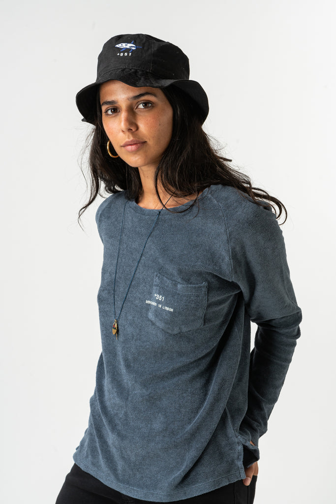 LONG SLEEVE ESSENTIAL TOWELLING
