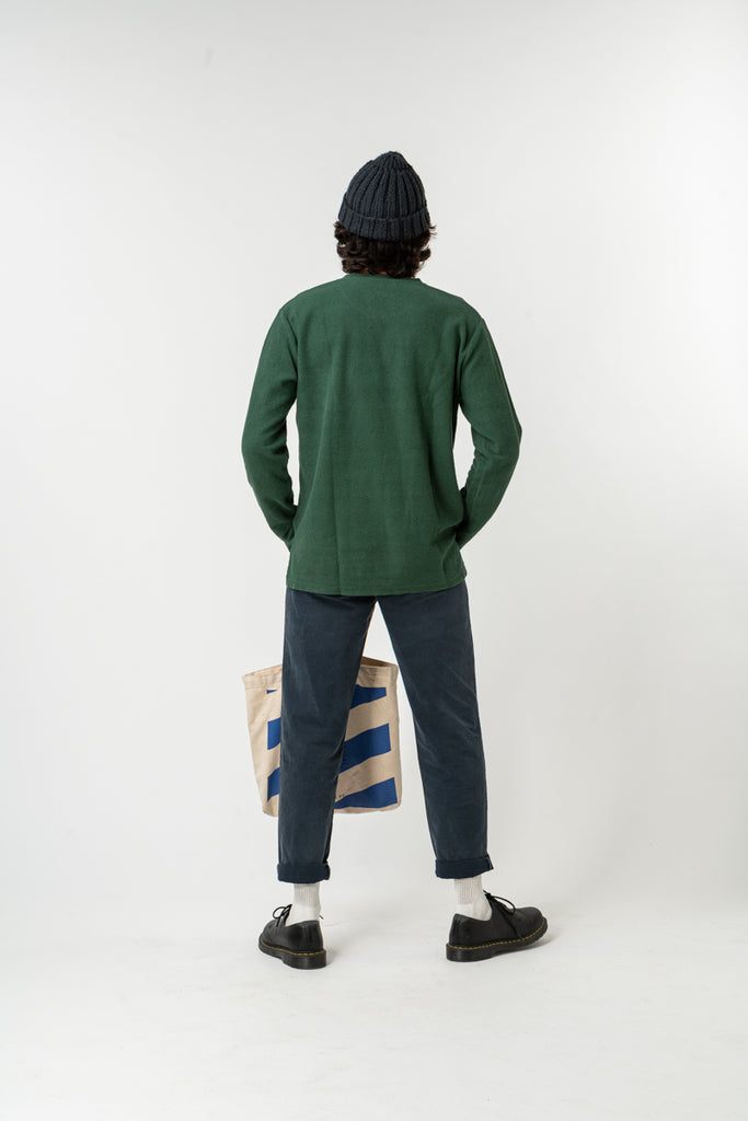 SWEATSHIRT ESSENTIAL BOTTLE GREEN