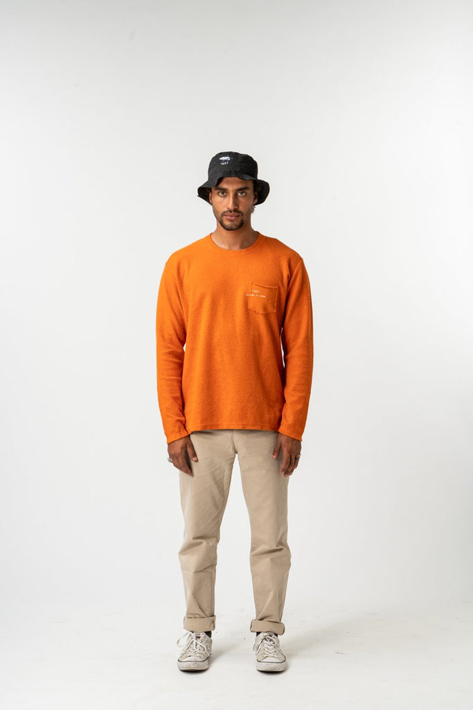 SWEATSHIRT ESSENTIAL ORANGE