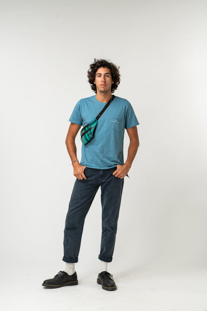T-SHIRT ESSENCIAL BLUE DENIM