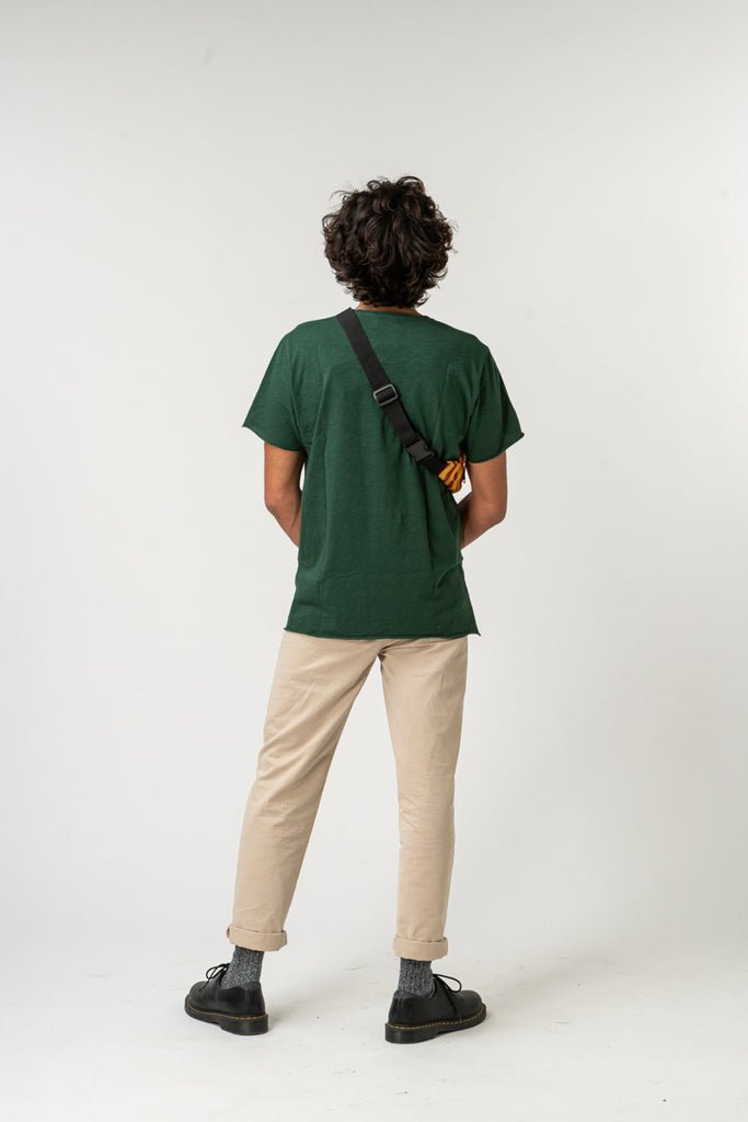 T-SHIRT ESSENTIAL BOTTLE GREEN