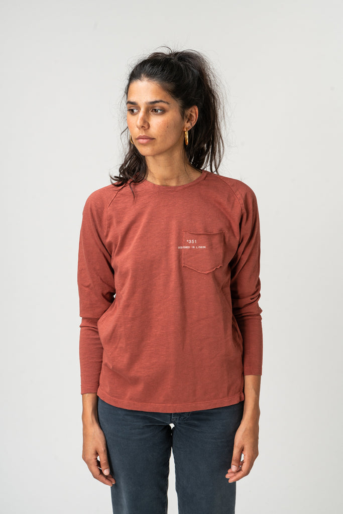 LONG SLEEVE ESSENTIAL BRICK