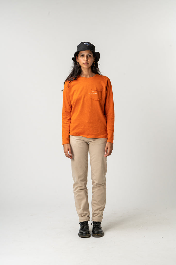 LONG SLEEVE ESSENTIAL ORANGE