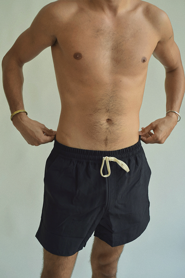 ELASTIC BOARDSHORTS BLACK