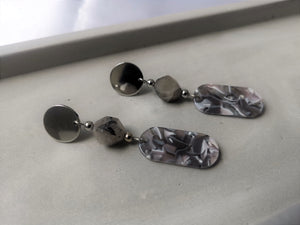 Grey Samples Earrings [I]