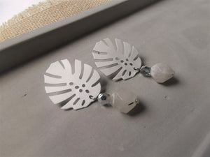 Grey Samples Earrings [V]