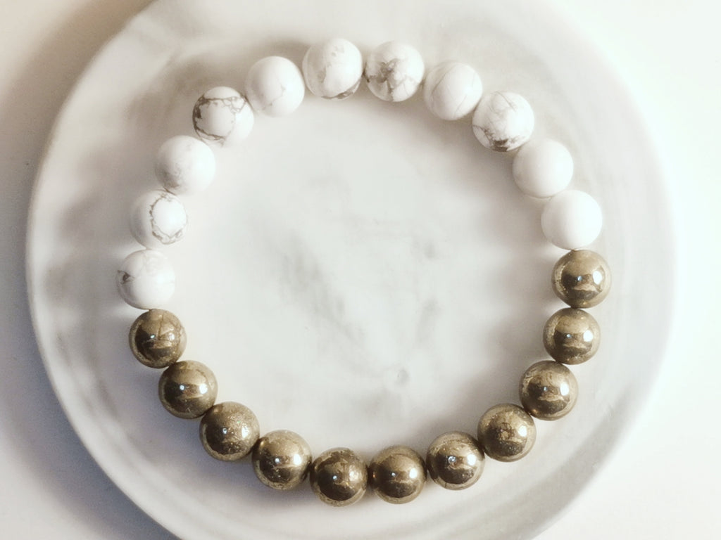 Pyrites and Howlite