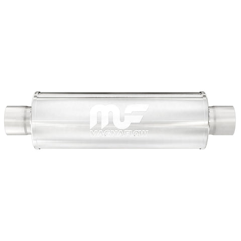 "MagnaFlow 4"" Round Center/Center Straight Through Performance Muffler"
