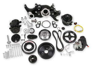 HOLLEY PREMIUM MID-MOUNT COMPLETE ACCESSORY SYSTEM FOR LT ENGINES