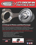 LT1 / L86 6.2 Drop in Piston and Rod Kit