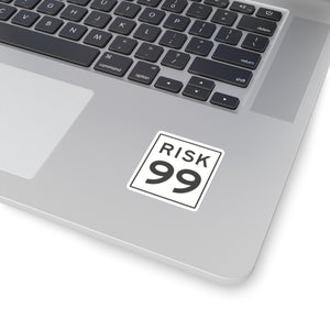 Kiss-Cut Risk 99 Sticker