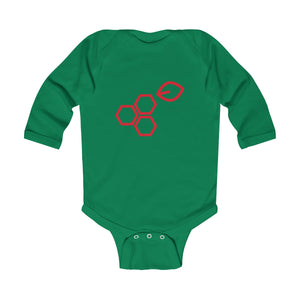 Infant Long Sleeve Bodysuit - Mistletoe