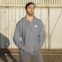 Load image into Gallery viewer, Unisex Zip Up Hoodie