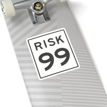Load image into Gallery viewer, Kiss-Cut Risk 99 Sticker