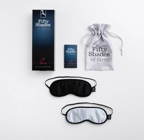 50 Shades of Grey - No Peeking Twin Blindfold Set
