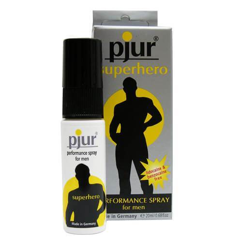 Pjur Superhero Energizing Ginkgo Spray 20ml