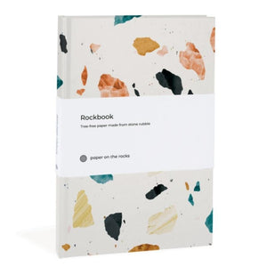 Stone paper notebook terrazzo-Notitieboek-Paper on the Rocks-MIISHA