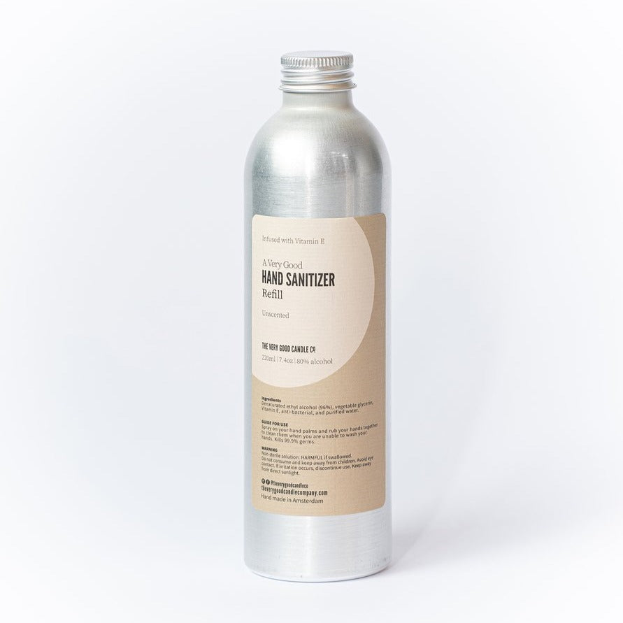 Desinfecterende hand spray geurloos-Desinfecterende spray-The Very Good Candle Company-Navulling 220ml-MIISHA
