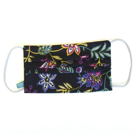Reusable face mask black/purple