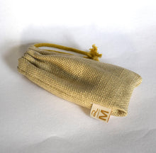 Afbeelding in Gallery-weergave laden, Vegan safety razor pouch linnen naturel