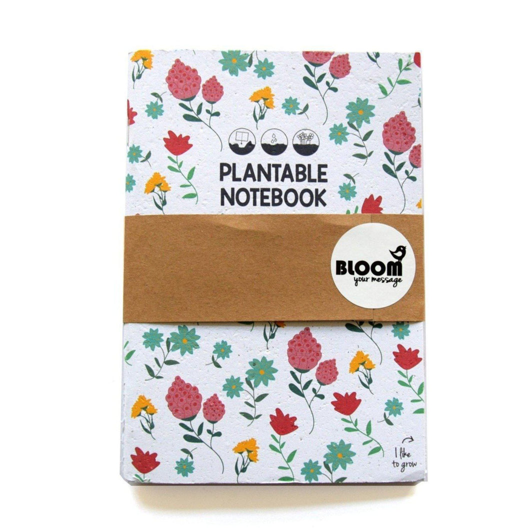 Plantbaar notitieboekje-Notitieboek-Bloom Your Message-MIISHA