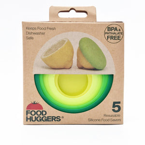 Food Huggers Set of 5 Fresh Greens-Food Huggers-Food Huggers-MIISHA