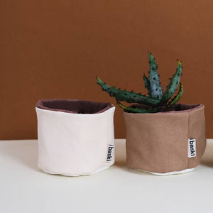 Plantenmandje Natural Clay Brown-Plantenpot-Baski-MIISHA | Eco webshop