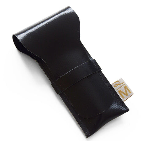 Vegan safety razor pouch black