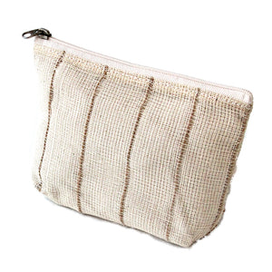 Make-up tasje jute naturel-Toilettas-ANNA NERA-Small (15x11cm)-MIISHA