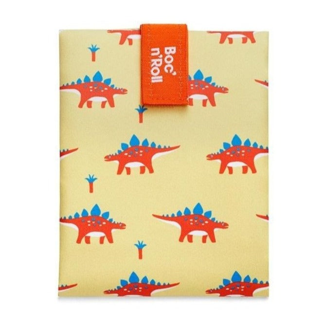 Herbruikbare sandwich wrap kids dino-Lunchwraps-Roll'eat-MIISHA