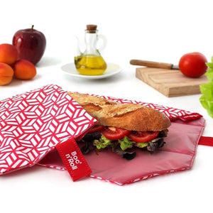 Hebruikbare sandwich wrap rood-Lunchwraps-Roll'eat-MIISHA
