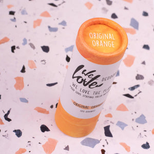 Deostick original orange-Deodorant-We Love The Planet-MIISHA
