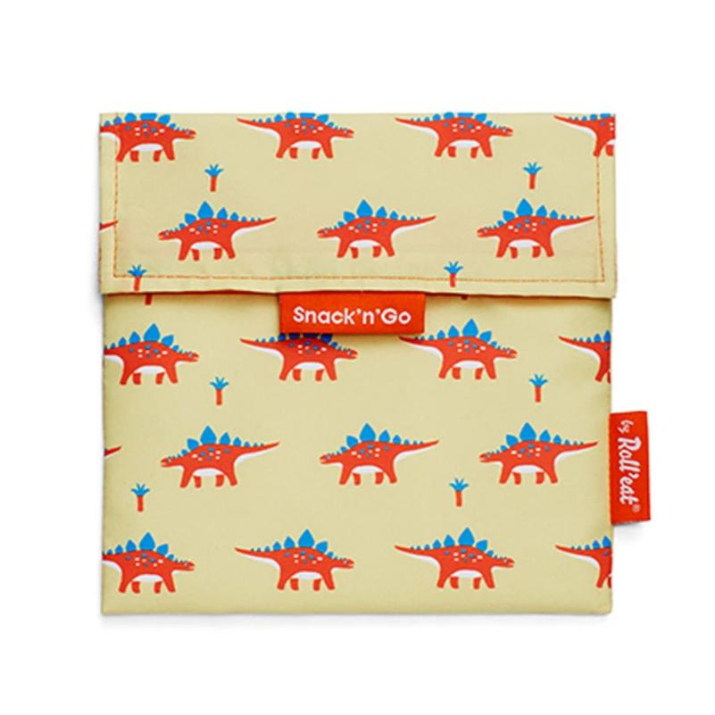 Herbruikbare snack bag kids dino's-Lunchwraps-Roll'eat-MIISHA