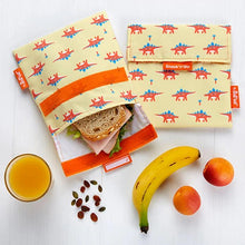 Afbeelding in Gallery-weergave laden, Herbruikbare snack bag kids dino's-Lunchwraps-Roll'eat-MIISHA