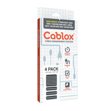 Load image into Gallery viewer, Cablox 4pk Bundle (1x 8x8 + 3x 2x8)