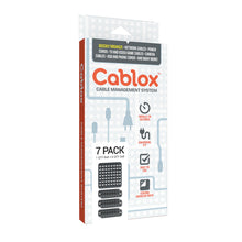 Load image into Gallery viewer, Cablox 7pk Bundle (1x 8x8 + 6x 2x8)