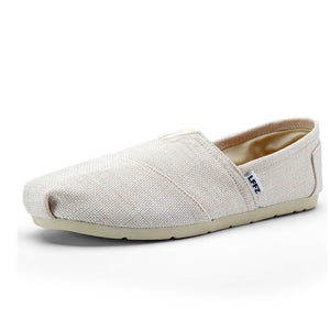 LFFZ Linen Canvas Espadrilles in Beige