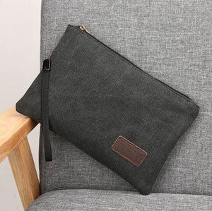 Gunuzi Lightweight Canvas Clutch Bag