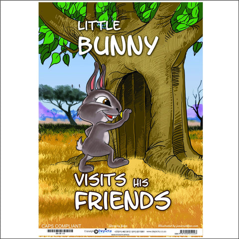 Little Bunny Visits His Friends (Big Book)