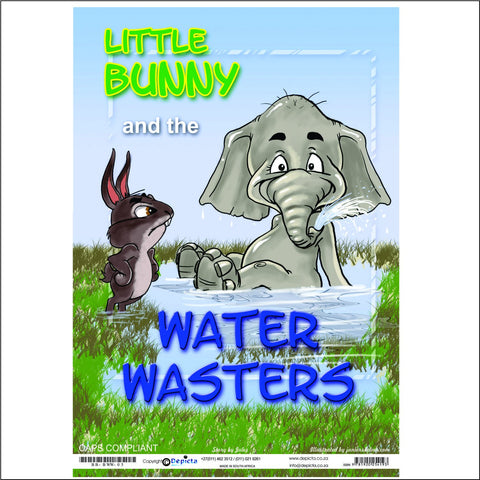 Little Bunny and the Water Wasters (Big Book)