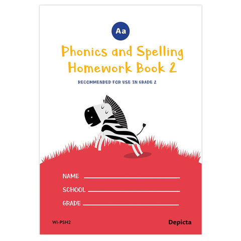 Phonics and Spelling Homework Book 2