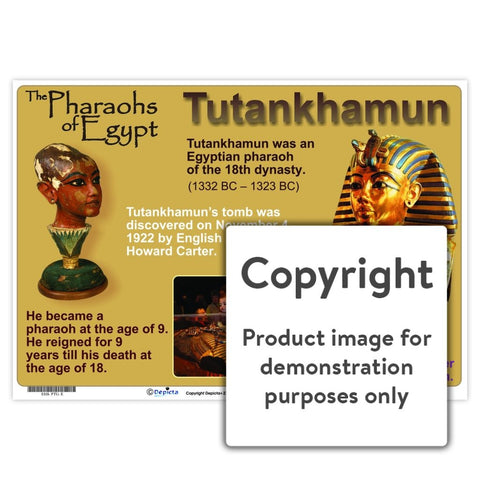Pharoahs of Egypt - Tutankhamun