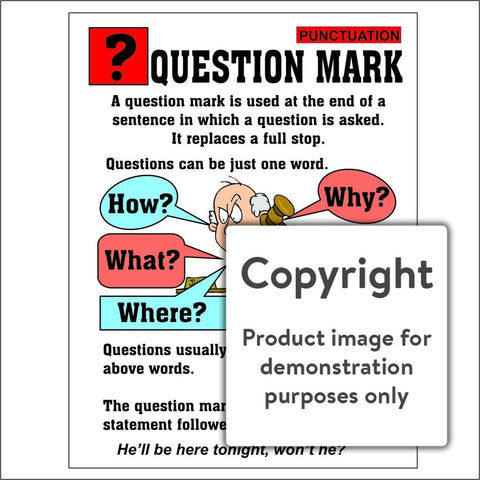 Punctuation: Question Mark