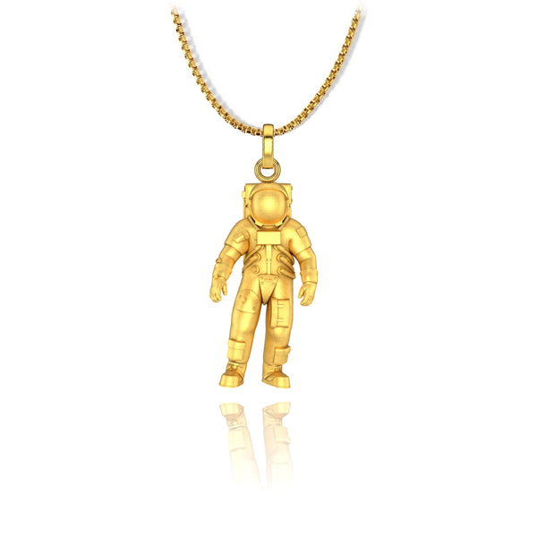 Astro Pendant - Stainless Steel - ndm-jewelry