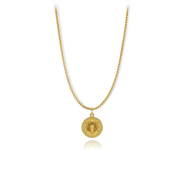 Medusini Pendant - 18k gold plated - ndm-jewelry